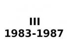 III 1983-1987