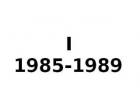INTEGRA I 1985-1989