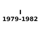 I 1979-1982
