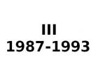 III 1987-1993