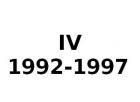 IV 1992-1997