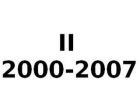 II 2000-2007
