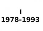 I 1978-1993