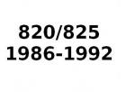 820/825 1986-1992