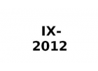 IX 2012-