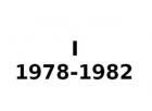 I 1978-1982